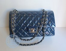 Chanel  Double Flap Handbag, Lamb Leather