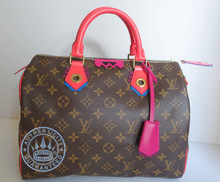 Louis Vuitton Totem Monogram Speedy 30 Handbag