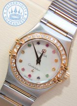 Omega Constellation Lady Watch, IRIS Diamonds