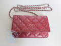 Chanel Woc classic flap red  bag