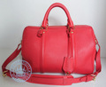 Louis Vuitton SC Leather in red  Handbag